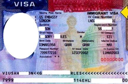 рабочая виза EB