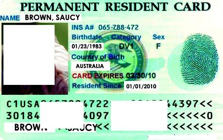 green card сша