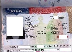 американская виза невесты
