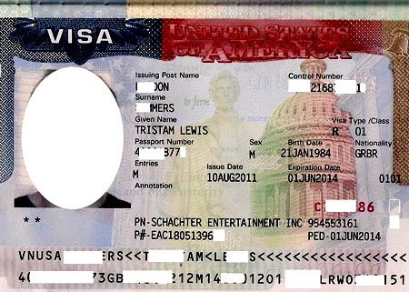 Рабочая виза в США
