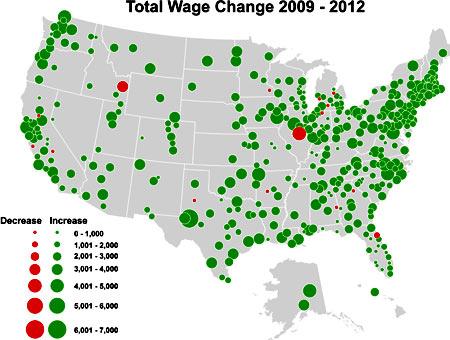 Какая средняя и минимальная зарплата в США в 2016 году - Жизнь и отдых в США - как уехать жить в Америку