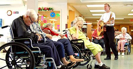 дом престарелых США