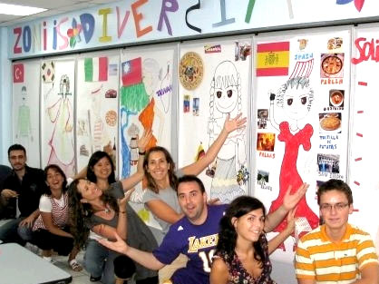 США языковая школа
