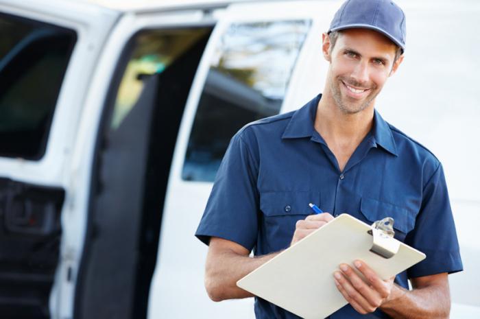 Работник доставки