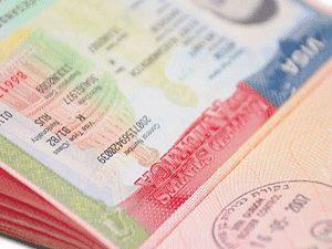 Виза в США в загранпаспорте