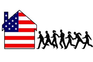 Побег в США