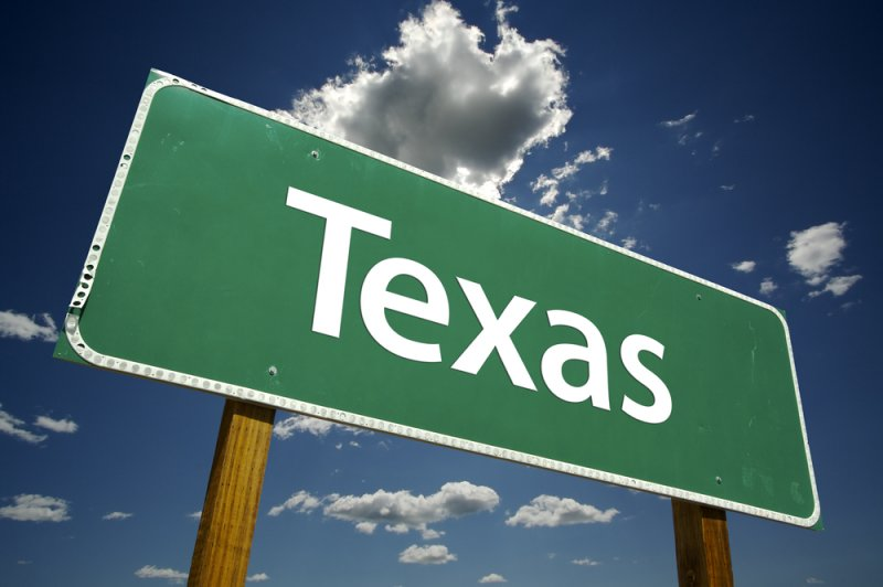 Вывеска Техас