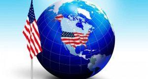 США на земном шаре
