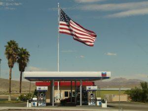Автозаправка в США