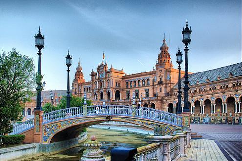 Площадь Испании, Севилья