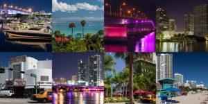 Майами днем и ночью