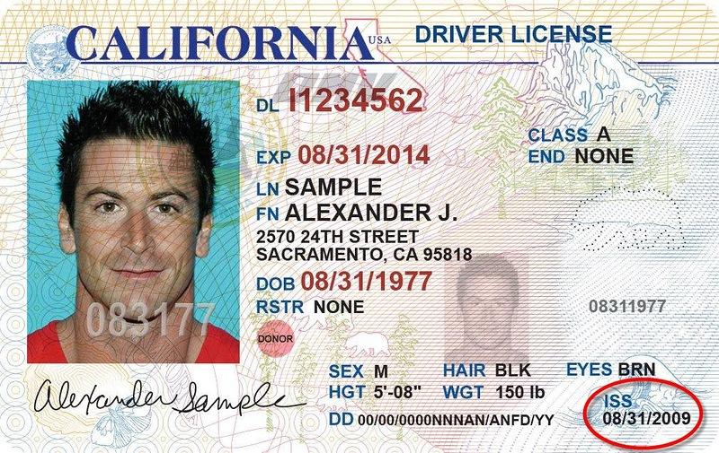 Водительские права США
