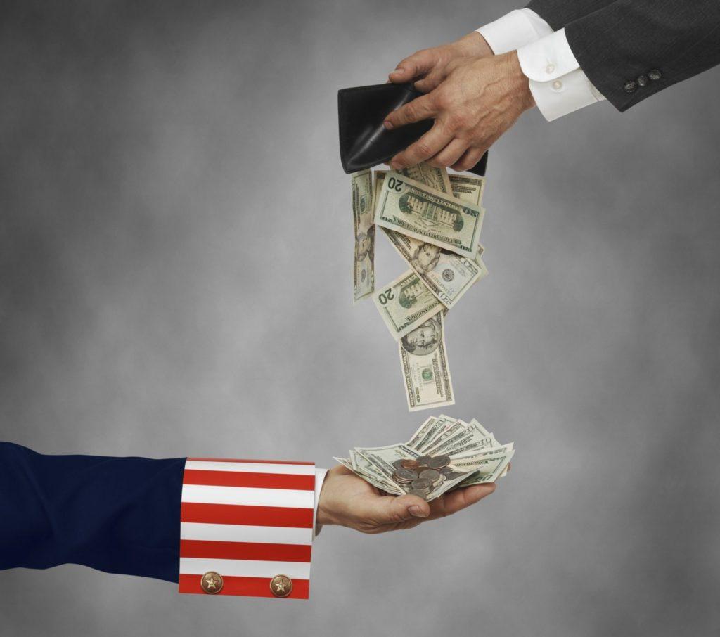 Выплаты в США