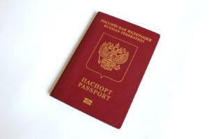 Загранпаспорт ПФ