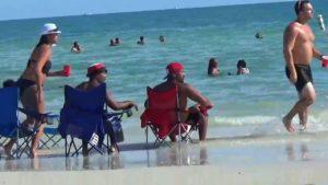 пляжи залива сегодня
