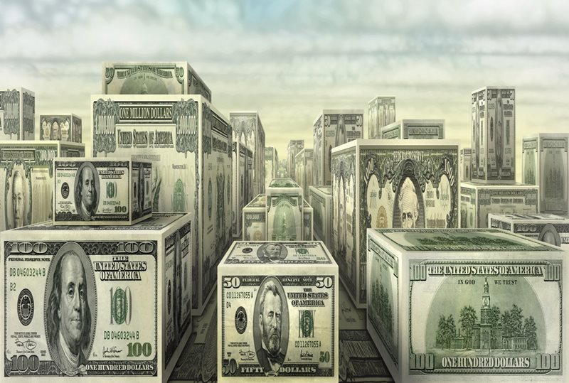 Здания - деньги