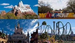 национальные и тематические парки