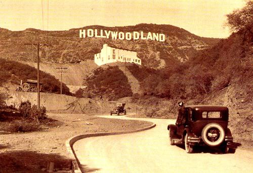 hollywoodland надпись