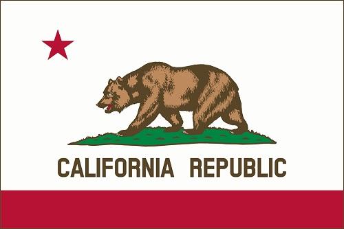 california флаг штата