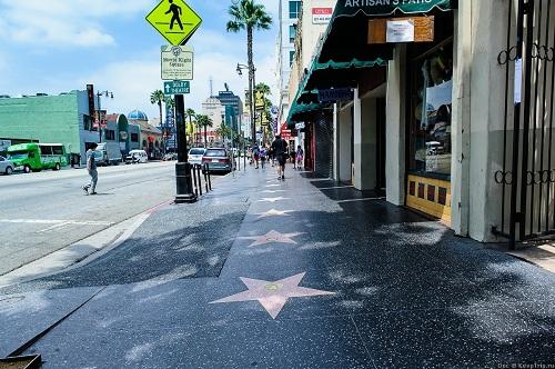 голливудская алея звезд