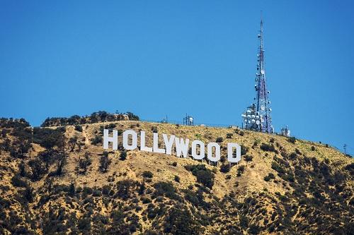 hollywood надпись