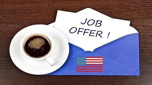 job offer сша