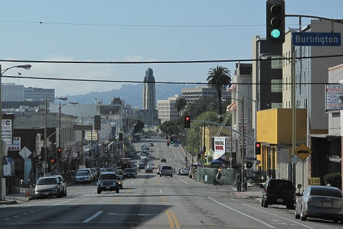 улица лос анджелеса