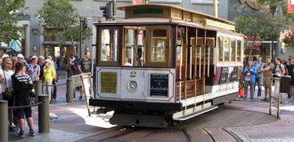 фото канатного трамвая