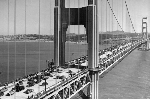 готовый мост golden gate
