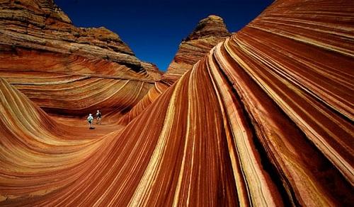 каньон волна аризона