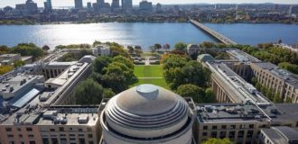 массачусетский университет вид сверху