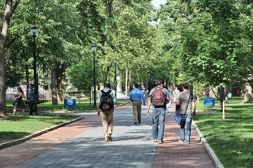 территория университета пенсилвании