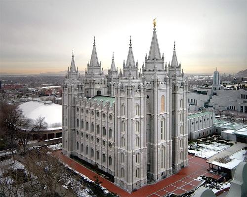 храм мормонов юта