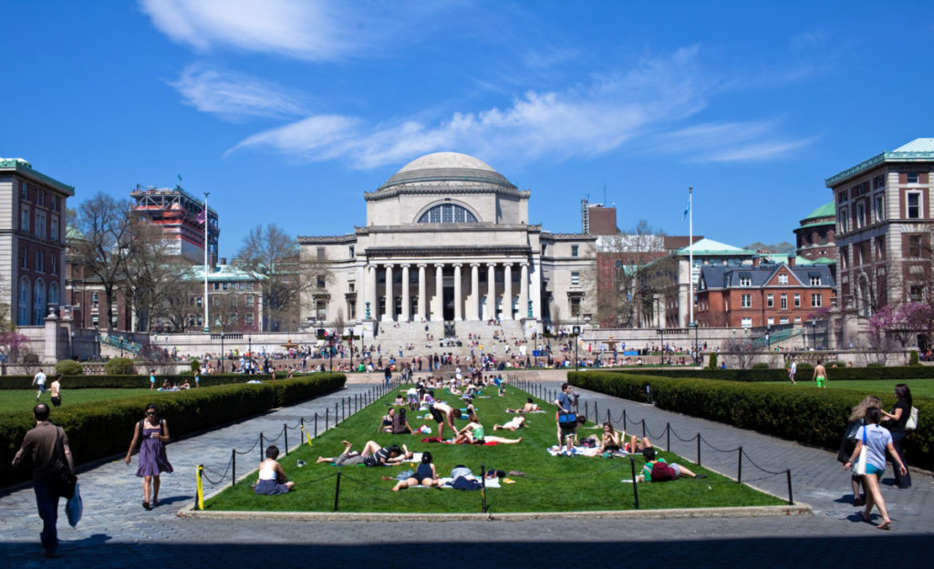 Университет Колумбия США