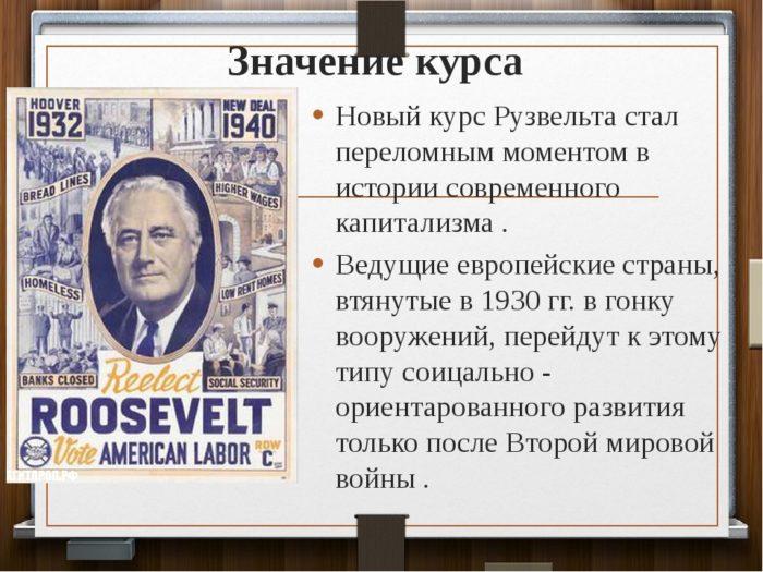 Великая депрессия в США Рузвельт