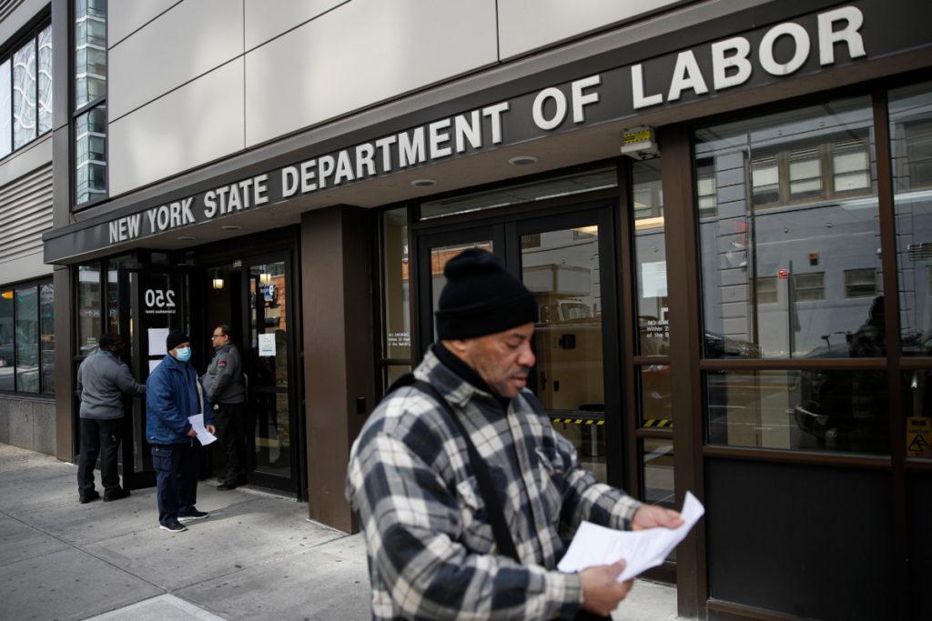 Безработица в США министерство труда