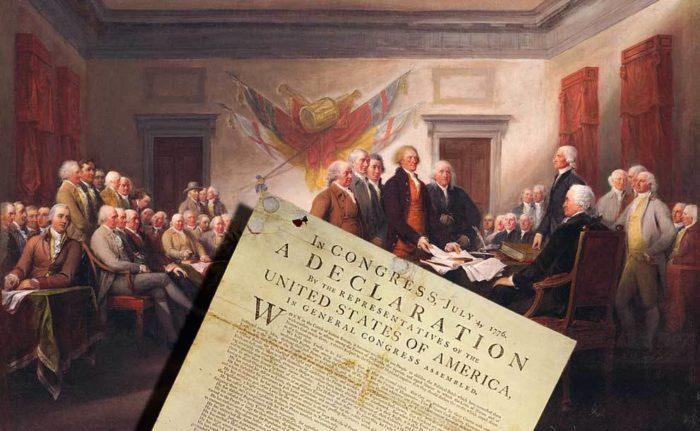 Основные положения Декларации независимости США