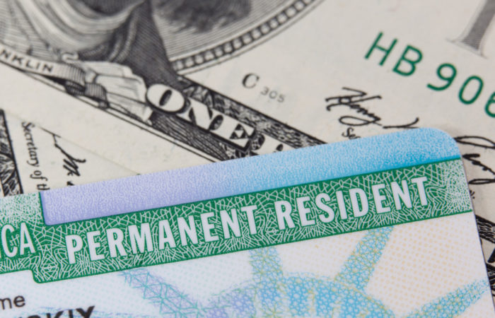 USA Permanent Resident card aka Green Card