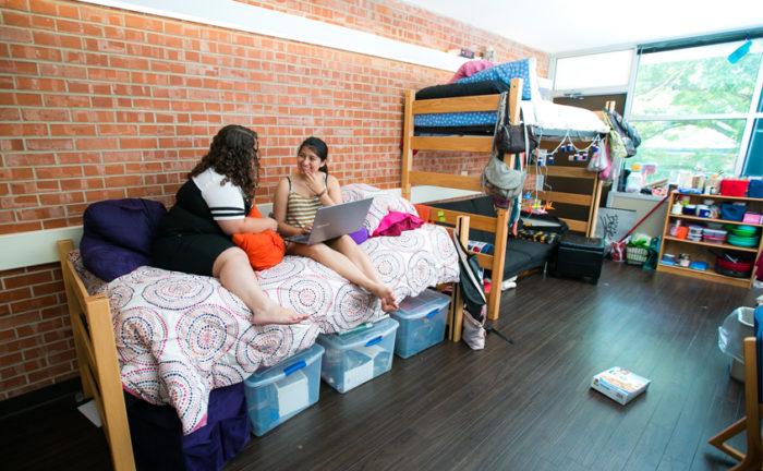 общежитиях Принстонского университета