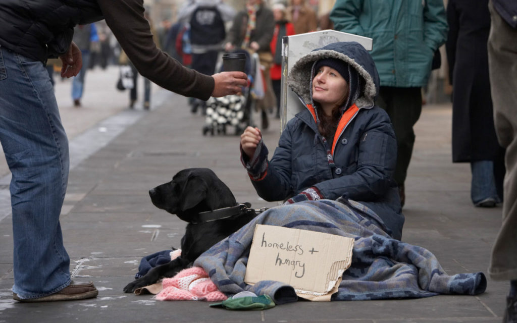 Отношение граждан США к бездомным