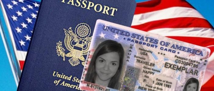 Паспорт гражданина США