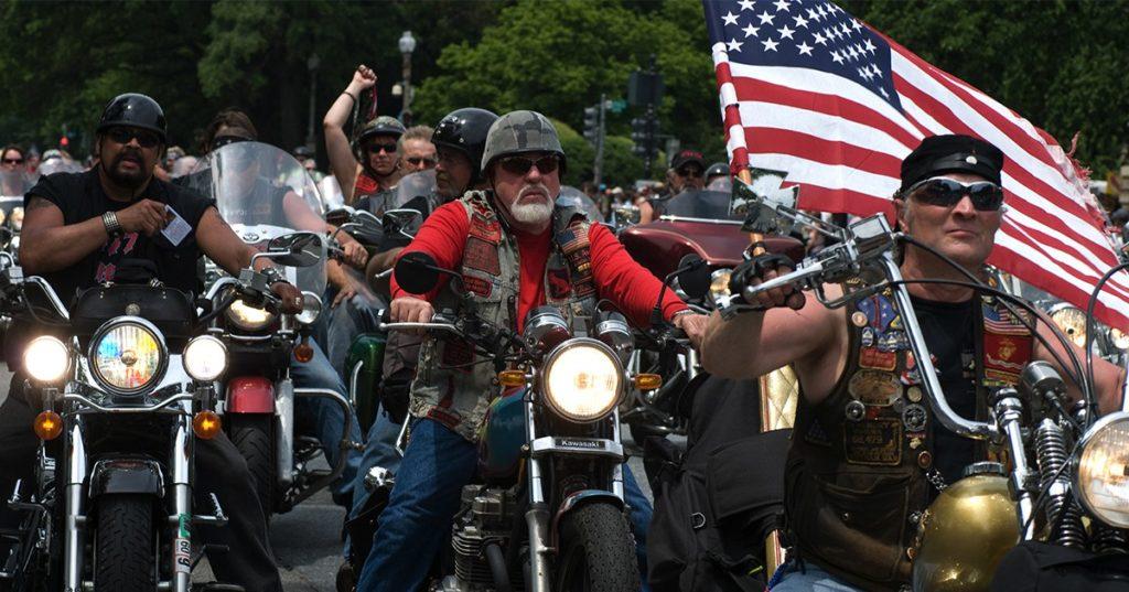 Мотоциклисты в США