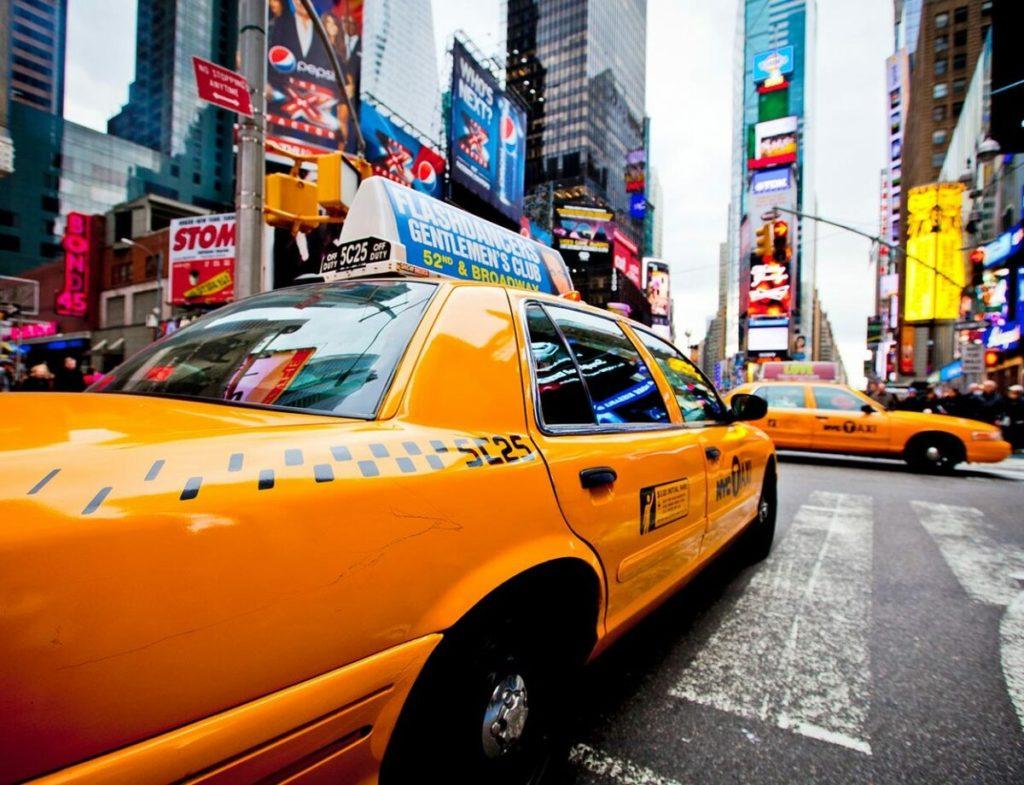 Работа таксистом в Нью-Йорке