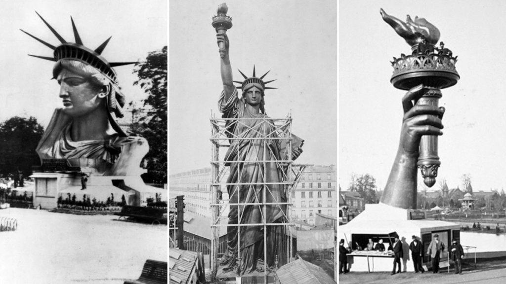 История строительства Статуи Свободы