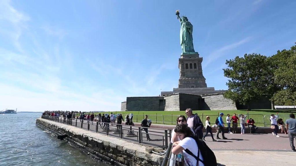 Режим работы Статуи Свободы