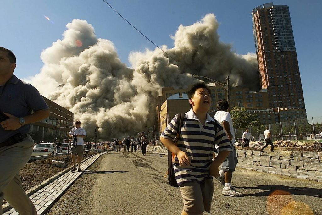 Хаос из за теракта
