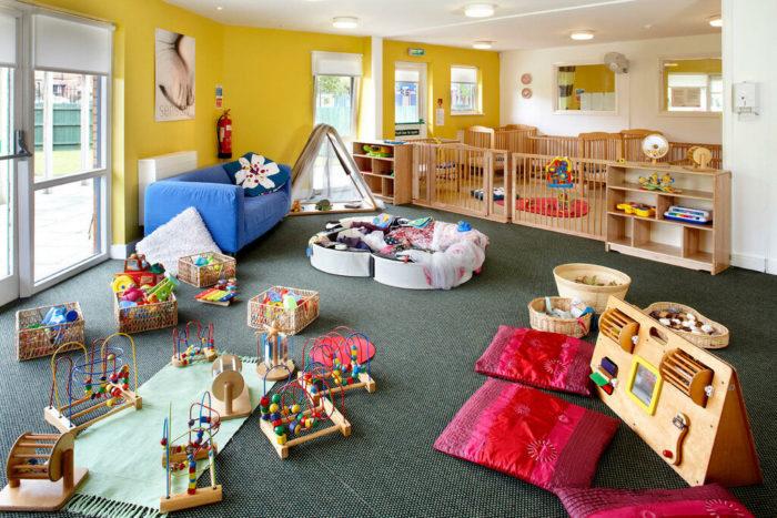 Особенности Американских детских садов