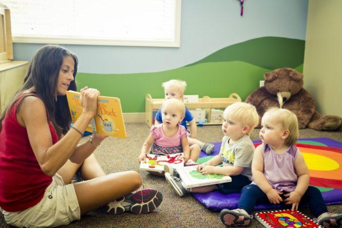 Домашние детские сады в США