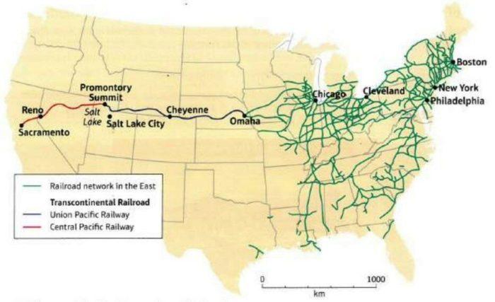Трансконтинентальная железная дорога