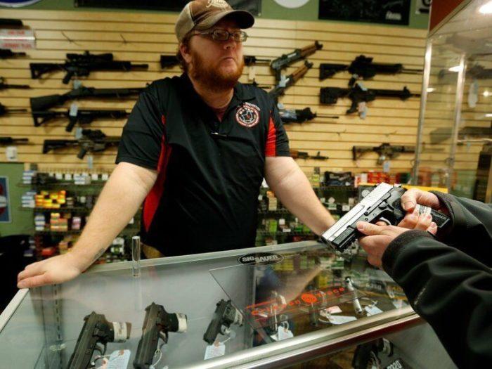 Разрешенное оружие в США